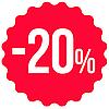 - 20 %