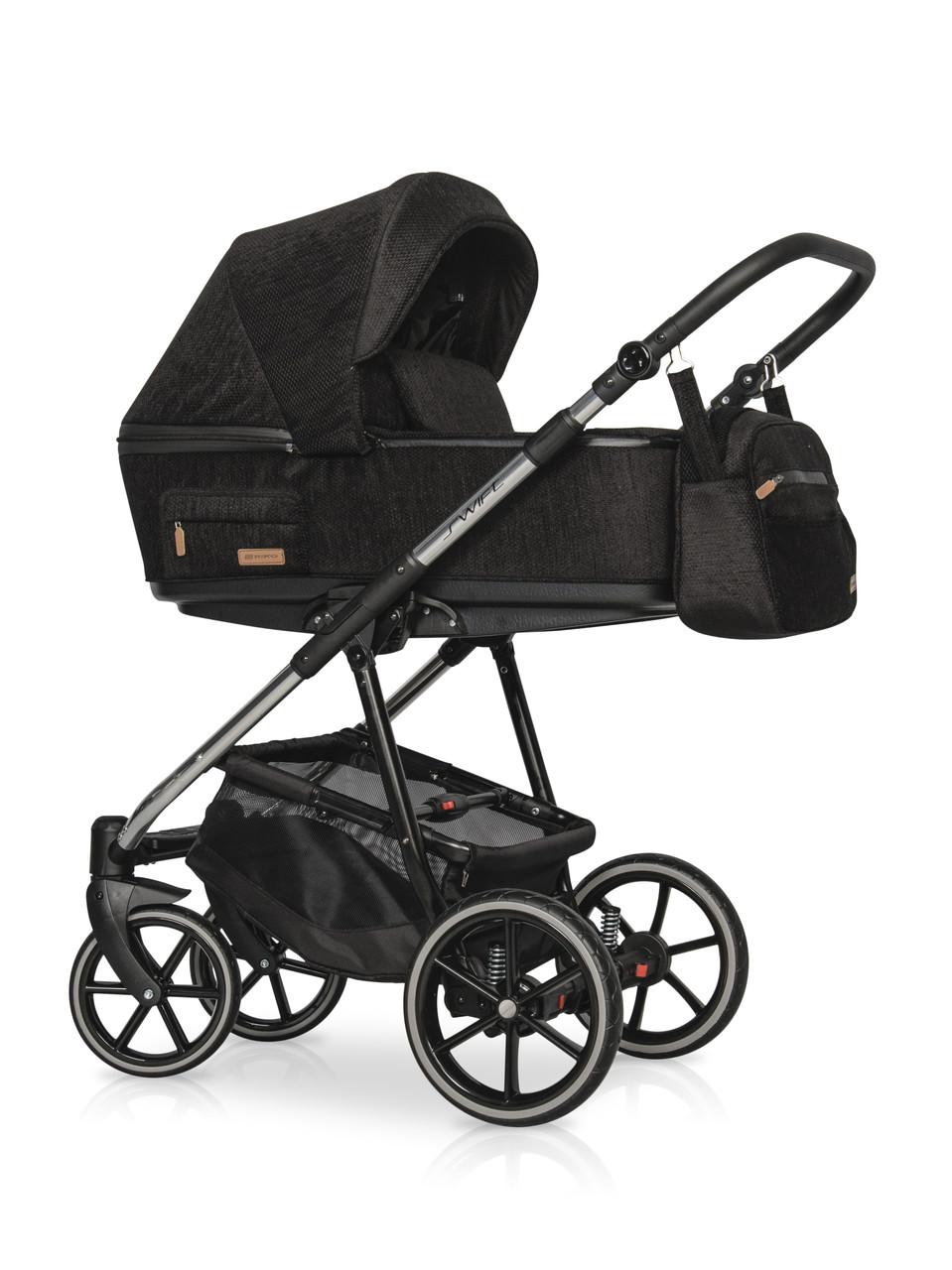 Детская универсальная коляска 3 в 1 Riko Swift Premium 13 Carbon