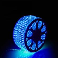 Лента LED светодиодная на 220V синяя 4W/m влагозащита IP65 №10/5 120Led