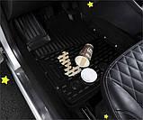 Коврики в салон  TOYOTA Prius 10/2009->, 4 шт. (полиуретан) NLC.48.22.210, фото 5