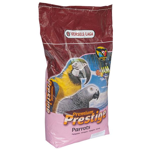Корм для крупных попугаев Versele-Laga Prestige Premium Parrots 15 кг