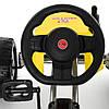 Веломобиль Bambi М 4118-6. Нагрузка до 50 кг. Ручной тормоз. Рама: металл. EVA колеса. Вес:16.5 кг, фото 2