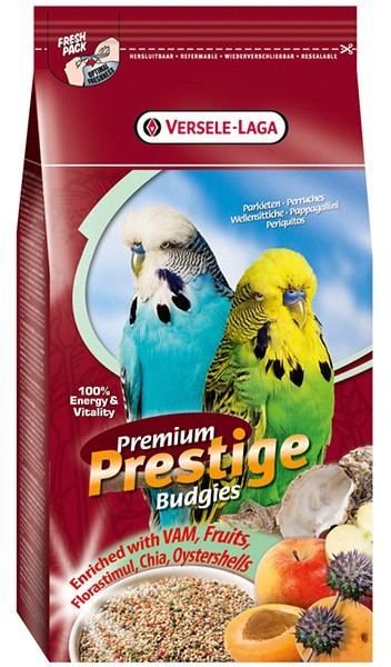 Корм для хвилястих папуг Верселе-Лага Versele-Laga Prestige Premium Вudgies 1 кг