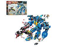 Конструктор 2722 робот-трансформер, самолет, фигурки - игровой набор для мальчика