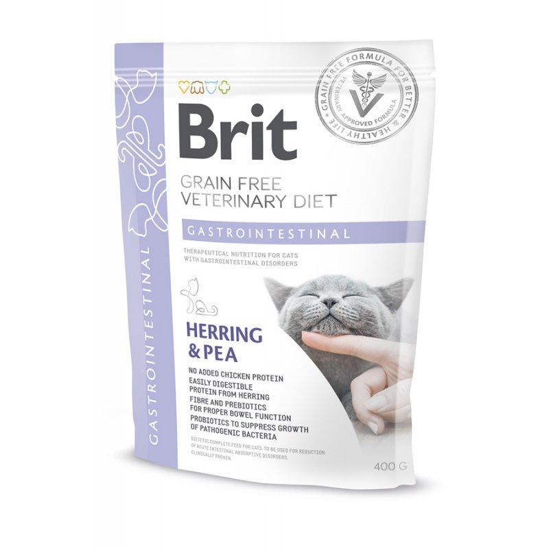 Корм для котів Brit Care Veterinary Diet Gastrointestinal (при захворюваннях ШКТ) 400г