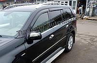 Ветровики, дефлекторы окон Mercedes GL X-164 2006-2012 (Hic), фото 1