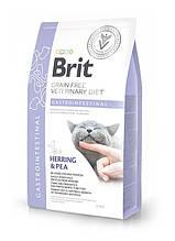 Корм для котов Brit Care Veterinary Diet Gastrointestinal (при заболеваниях ЖКТ) 2кг