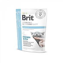 Корм для котов Brit Care Veterinary Diet Obesity (при лишнем весе) 400г