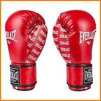 Перчатки боксерские Ever красные 12