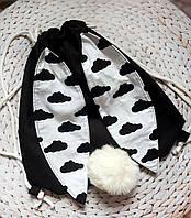 Детская сумка-торба Кролик для покупок, прогулок или сменной обуви