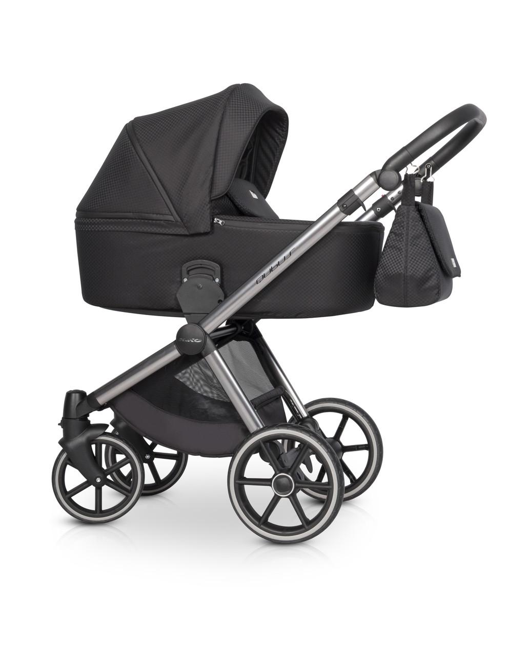 Детская универсальная коляска 3 в 1 Riko Qubus 03 Carbon