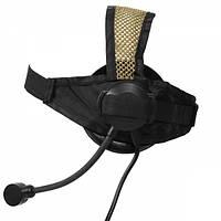Гарнитура Z Tactical Z028 Headset Military Standard Plug Black