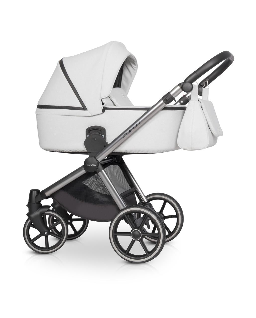 Детская универсальная коляска 3 в 1 Riko Qubus 04 Platinum