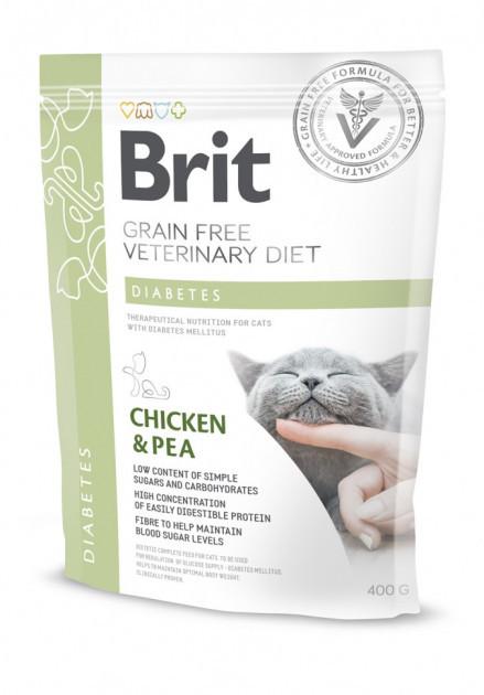 Корм для котов Brit Care Veterinary Diet Diabetes (при сахарном диабете) 400г