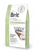 Корм для котов Brit Care Veterinary Diet Diabetes (при сахарном диабете) 2кг