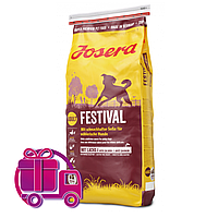 Корм Josera Festival Йозера Фестиваль з лососем для особливо вибагливих собак15 кг