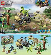 Конструктор 82162 Атака Тираннозавра и Раптора. Мир Юрского периода (аналог Jurassic World), фото 3