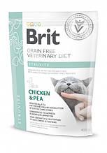 Корм для котов Brit Care Veterinary Diet Struvite (при мочекаменной болезни) 400г