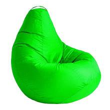 Кресло мешок СОФТЛЕНД Груша XXL 130х100 см Салатовый (SFLD47)