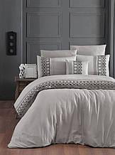 Комплект постельного белья сатин Moonlight first choice евро размер Mona Toprak