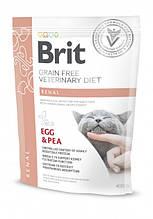 Корм для котов Brit Care Renal (при почечной недостаточности) 400г