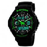 Skmei Детские часы Skmei S-Shock Green 0931, фото 4