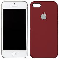 Чехлы U-Like Чехол силиконовый оригинальный для iPhone 5/5s/SE Клюква (23359)