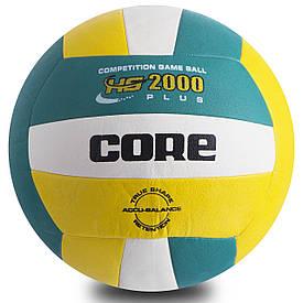 Мяч волейбольный PU CORE HYBRID CRV-029