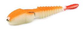 Поролоновая рыбка под крючок-двойник Levsha NN 3D Ex Stream 7см Fluo (10шт/уп)