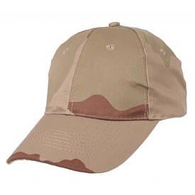 Камуфляжная кепка MFH 3 color desert