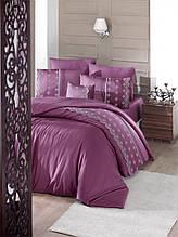 Комплект постельного белья сатин Moonlight first choice евро размер Stella Visne