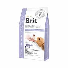 Корм для собак Brit Care Veterinary DietGastrointestinal (при заболеваниях ЖКТ) 2кг