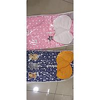 Теплые конверты на выписку для новорожденных малышей
