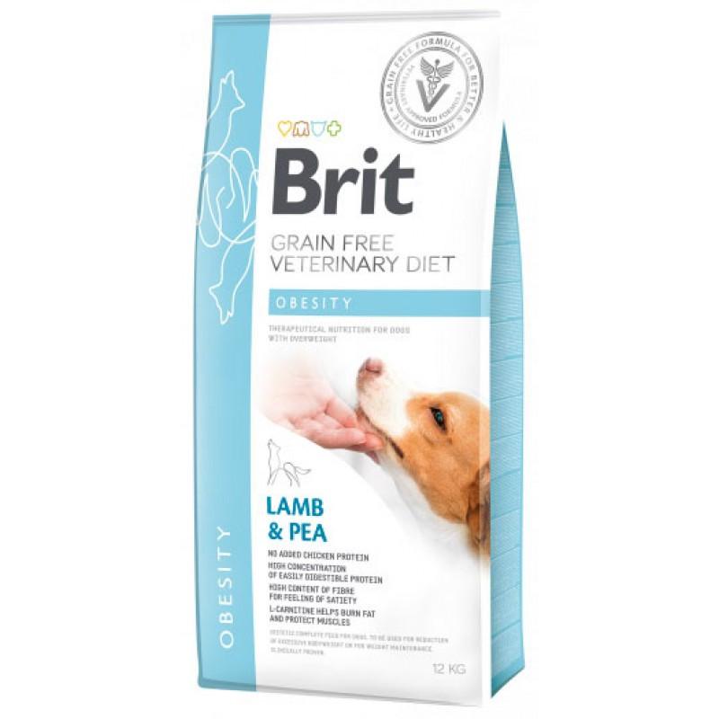 Корм для собак Brit Care Obesity (при зайвій вазі) 12кг