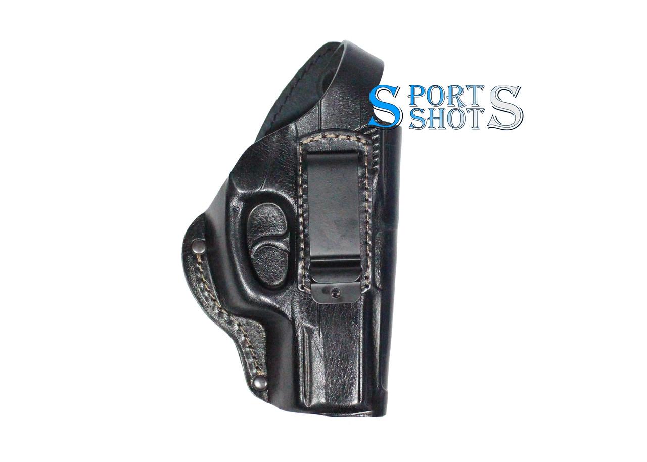 Кобура поясная кожаная для пистолета Crosman C11 со скобой