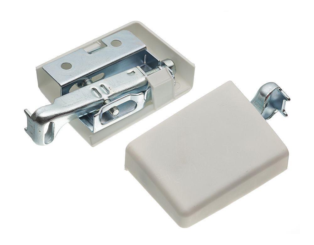 Навес GTV-STRONG усиленный для шкафа регулируемый (левый+правый) белый, 130кг/2шт. (Без заглушек)
