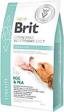 Корм для собак Brit Care Veterinary Diet Struvite (при мочекаменной болезни) 2кг