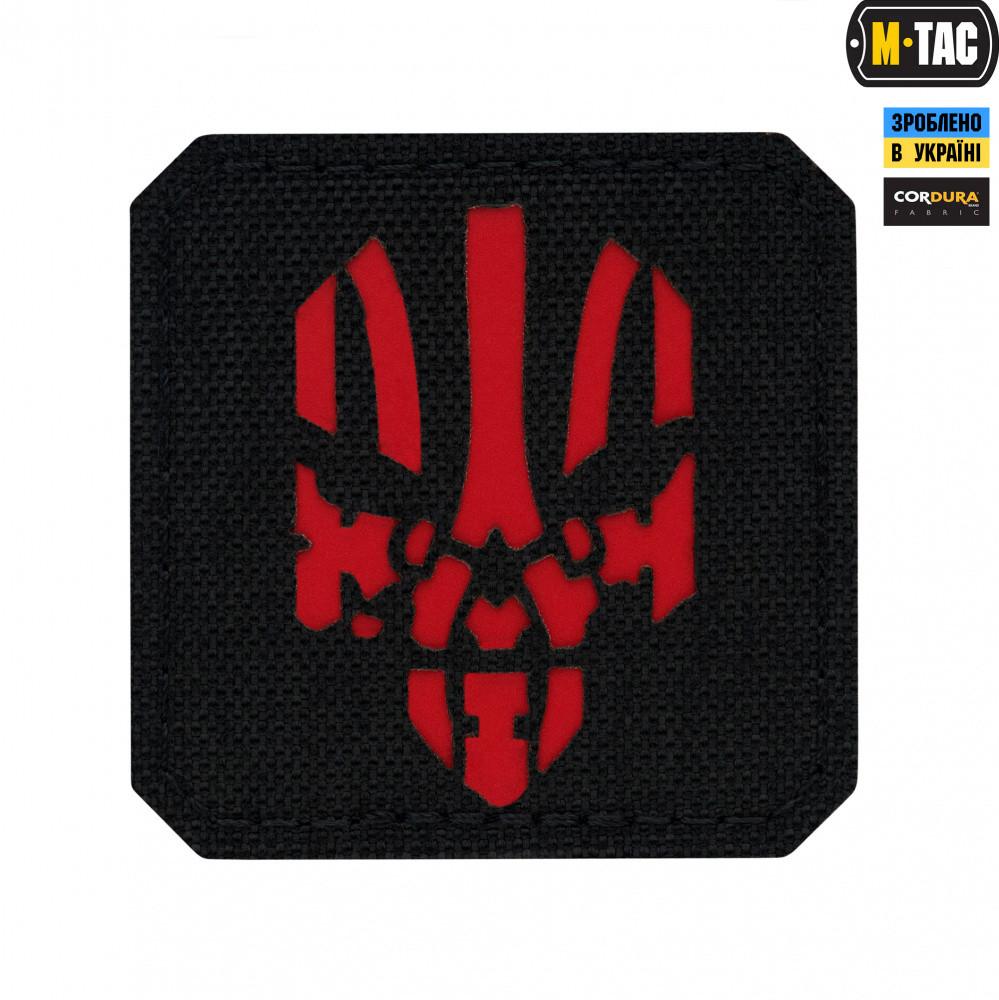 Патч M-Tac Месник Laser Cut Red Black
