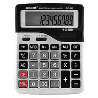 Калькулятор настольный Eastalent DF-895-12-ти разрядный, с солнечной батареей, 17,5см