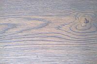 Паркетная доска Дуб однополосная 1800-2200х180х14мм трёхслойная БРАУН Рустик масло фаска, фото 1