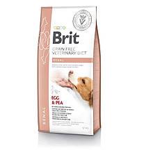 Корм для собак Brit Care Veterinary Diet Renal (при почечной недостаточности) 12кг