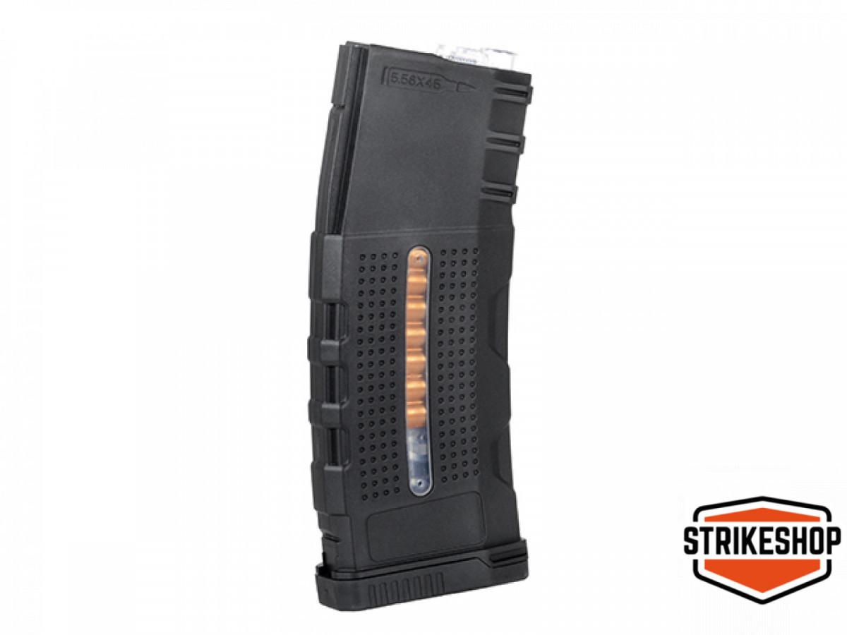 Магазин механічний BattleAxe Enhanced Grip Polymer AR-15/M4 150bbs Black