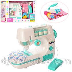 Детская швейная машинка 827B, 23 см, педаль управления, свет