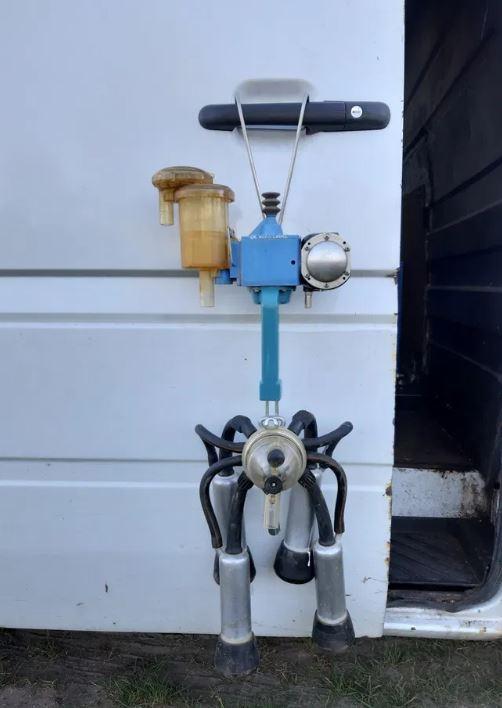 Комплект подвесная часть доильного аппарату  Duovac б/у, Alfa Laval