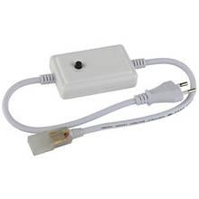 Адаптер для LED стрічки RGBY 6mm #12 220V+коннектор та заглушка