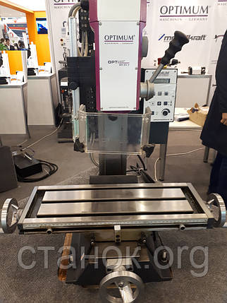 OPTImill MH 20 V L фрезерный станок по металлу настольный оптимум мш 20 в Optimum, фото 2