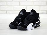 Мужские кроссовки в стиле Nike Air Max Speed Turf ЧЕРНЫЕ  (Реплика ААА+), фото 3