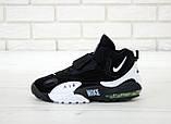 Мужские кроссовки в стиле Nike Air Max Speed Turf ЧЕРНЫЕ  (Реплика ААА+), фото 2