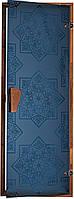"""Дверь для хамама (турецкой бани) """"СЕЗАМ Blue"""""""