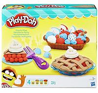 Набор теста для лепки PLAY DOH playful pies  Праздничный пирог Плей до Оригинал